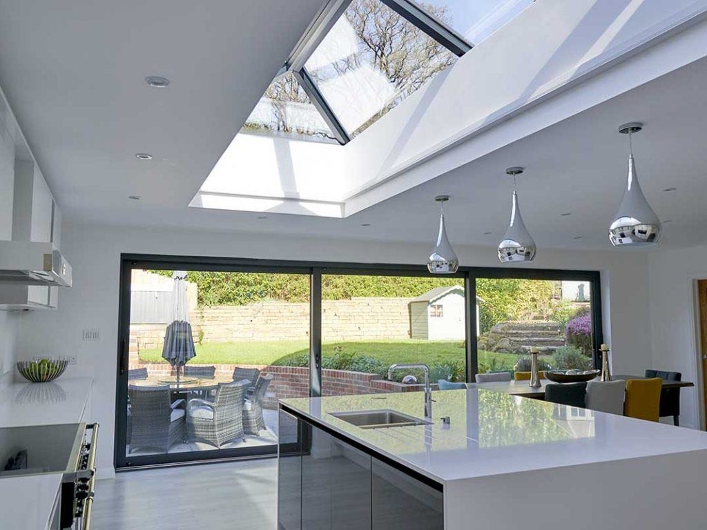What is a lantern roof