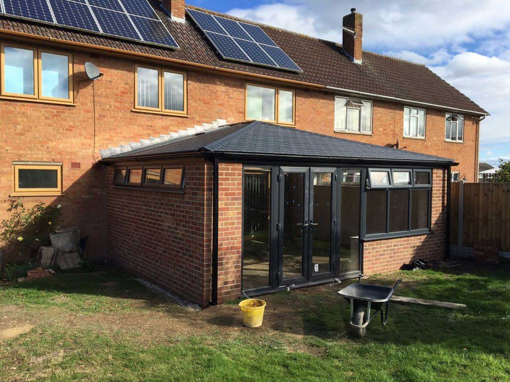 Tiled Roof Conservatory Worcester Worcestershire